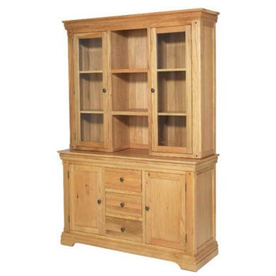 Heritage Furniture Bayonne Oak Large Dresser