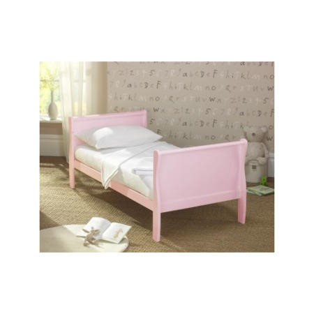 Superb Lollipop Lane Peyton Sleigh Cotbed In Pink Ocoug Best Dining Table And Chair Ideas Images Ocougorg