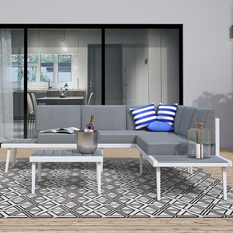 Metal garden sofa sets uk