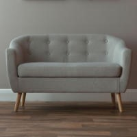 World Furniture Fulham 2 Seater Sofa in Natural
