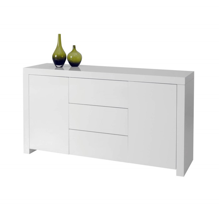 Wilkinson Furniture Galaxy White High Gloss Sideboard