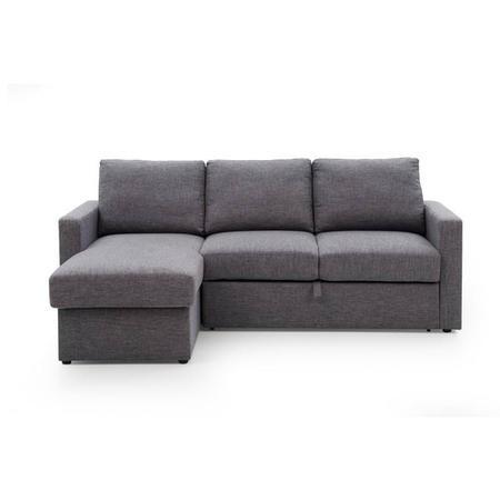 Helmsley Corner Sofa In Charcoal Furniture123