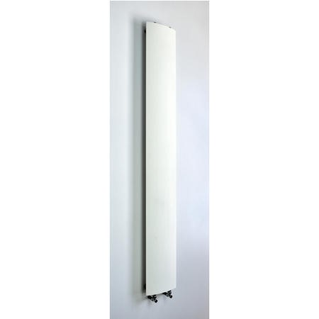 Accuro Korle White Aluminium Radiator - 2000 x 280mm