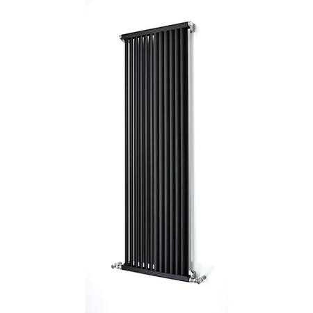 Accuro Korle Aluminium Radiator Anthracite - 1500 x 470mm