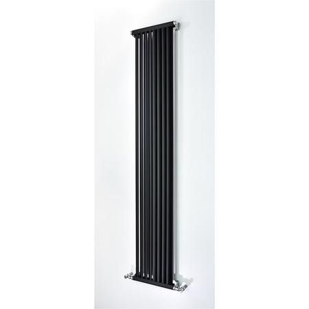Accuro Korle Aluminium Radiator Anthracite - 1800 x 330mm