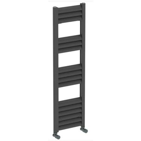Accuro Korle Champagne Towel Radiator Anthracite - 1020 x 300mm