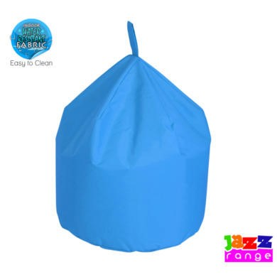 Bonkers Jazz Large Chino Bean Bag In Light Blue