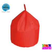 Bonkers Jazz Large Chino Bean Bag In Red