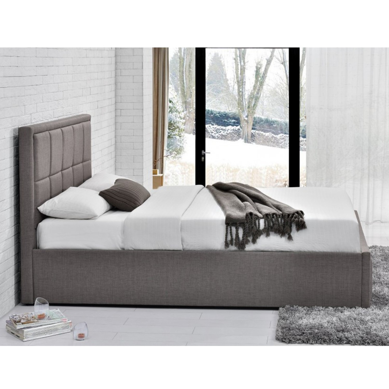 Ottoman Beds Clean Muji Living Couch Ottoman Acrylic Magazine