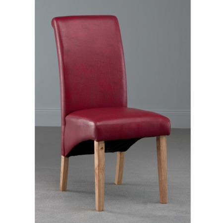 World Furniture Henley Dining Chair in Red