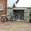 Rowlinson Heritage Outdoor Wallstore in Grey Wash