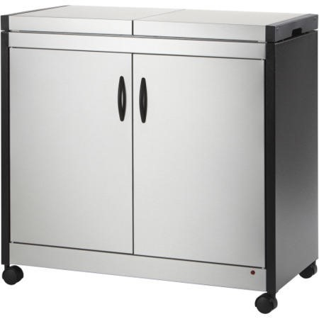 Connoisseur Hostess Trolley - Brushed Steel HL6232BS