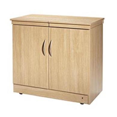 Image of Hostess HL6236LO Maestro - Wood Effect Trolley - Lugano Oak Effect