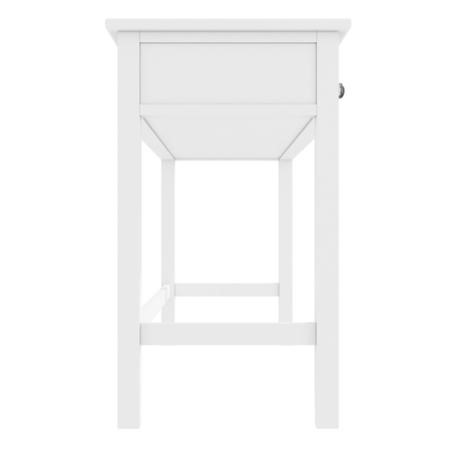 GRADE A1 - Harper White Solid Wood Dressing Table