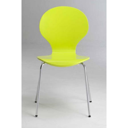 LPD Limited Ibiza Chairs Set Of 4 In Lime