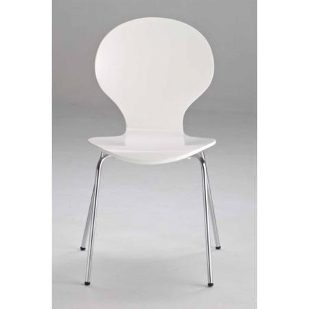 LPD Limited Ibiza Chairs Set Of 4 In White