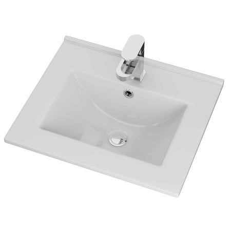 Moderno Thin Edge Vanity Unit Sink - 500mm Wide