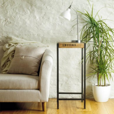 Baumhaus Urban Chic Tall Side Table