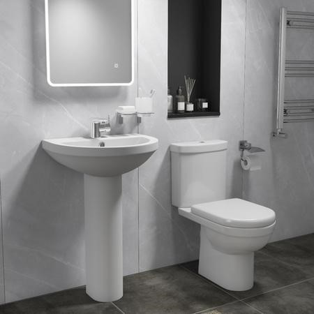 Toilet & Basin Bathroom Suite
