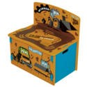 JCBPB Kidsaw JCB Playbox In Yellow Black & Blue