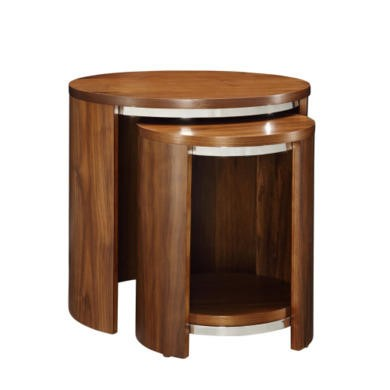 Cheap walnut nest of tables best uk deals on furniture for Furniture 123