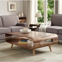 JF703 Walnut Retro Coffee Table
