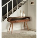 JF705 Walnut Retro Console Table