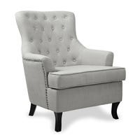 Estero Fabric Slate Grey Armchair