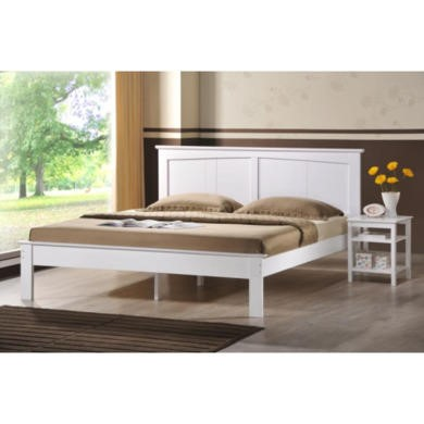 Wilkinsons Joshua White Double Bed Frame
