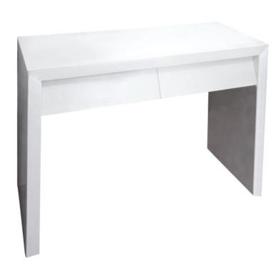 Venice 2 Drawer White High Gloss Console Table