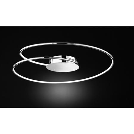 WOFi LED Ceiling Light in Chrome - Large - Louis Range