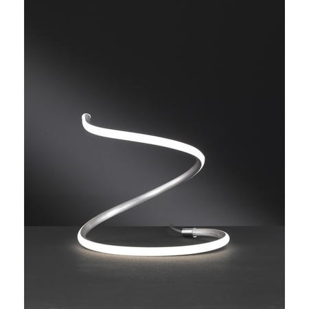 LED Table Lamp with Wave Design - Bonney