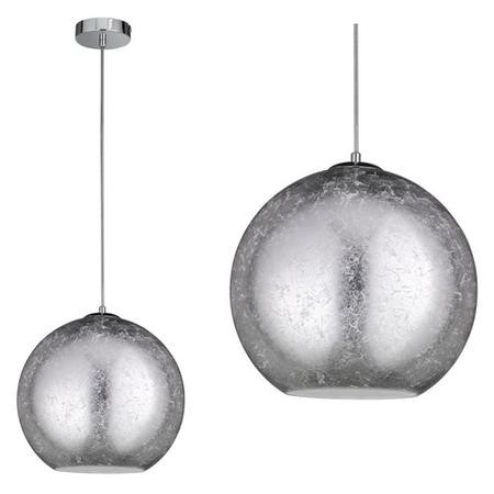 WOFi Fara Pendant Light in Silver Effect