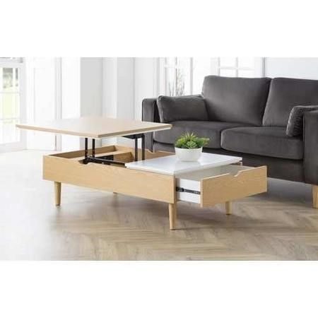 Julian Bowen Latimer Lift-Up Coffee Table