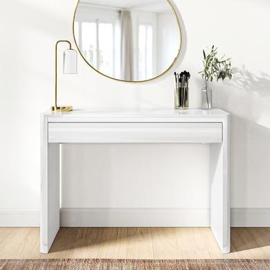 Lexi White High Gloss Dressing Table Furniture123
