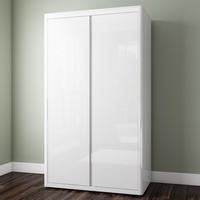 Lexi White High Gloss Wardrobe