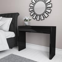 Lexi Black High Gloss Dressing Table