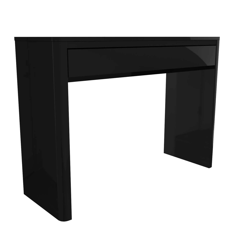 Lexi Black High Gloss Dressing Table