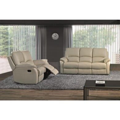 Wilkinson Furniture Lucca Ivory 2 Seater Recliner
