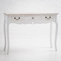 Vermont Shabby Chic 3 Drawer Console Table