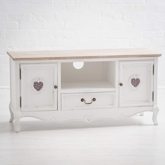 Vermont Shabby Chic Tv And Media Cabinet Furniture123