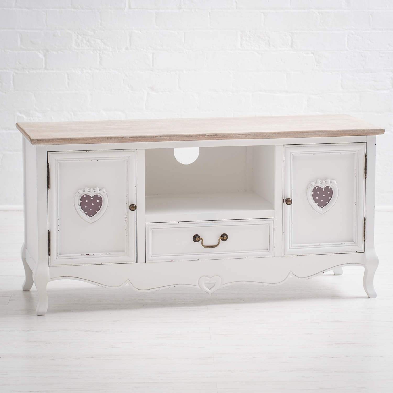 Vermont Shabby Chic TV And Media Cabinet