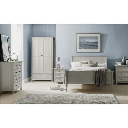 Julian Bowen Maine Grey Double Bed
