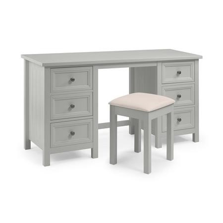 Julian Bowen Maine Dressing Table in Dove Grey