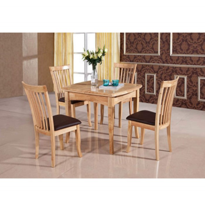 Furniture link malaga dining table in natural furniture123 - Furniture malaga ...