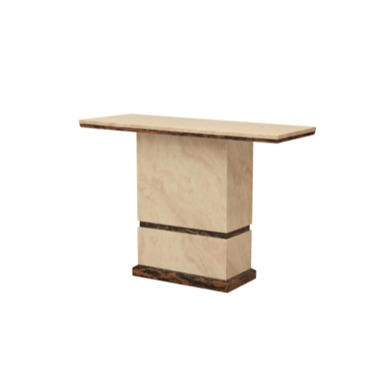 Wilkinson Furniture Cassia Console Table in Marble
