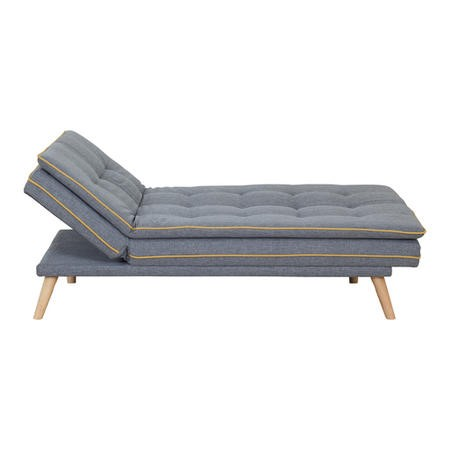 Marcel Sofa Bed in Upholstered Grey Fabric