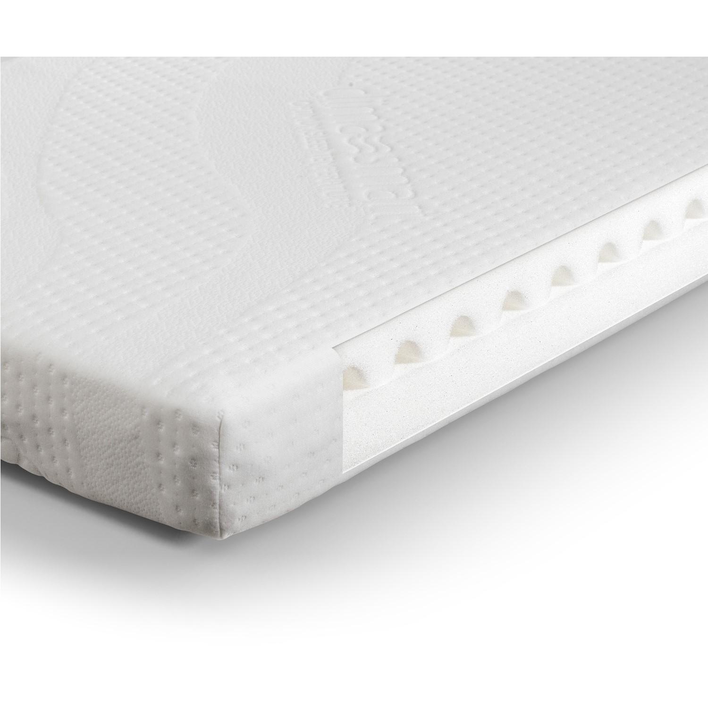 Julian bowen air wave foam cotbed mattress with clima smart cover