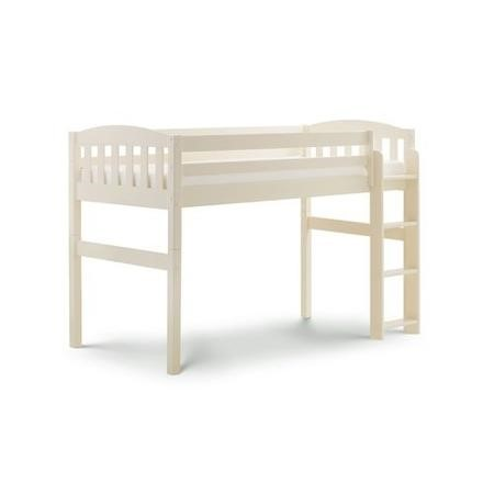 Julian Bowen Max Combination Bunk Bed in Stone White