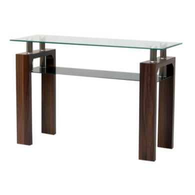 MAY-009 Wilkinson Furniture Maya Glass Top Console Table